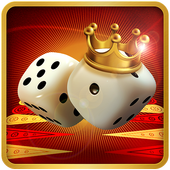 Backgammon King Online 🎲 Free Social Board Game app icon