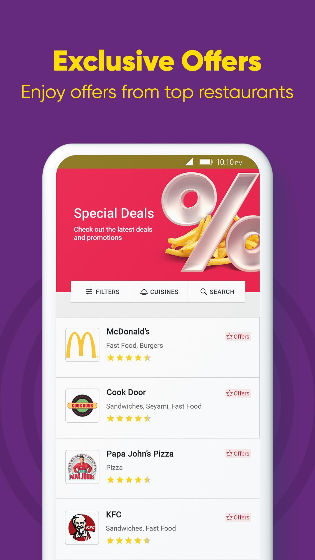 Otlob Food Delivery 7.1.0 Screenshot 3