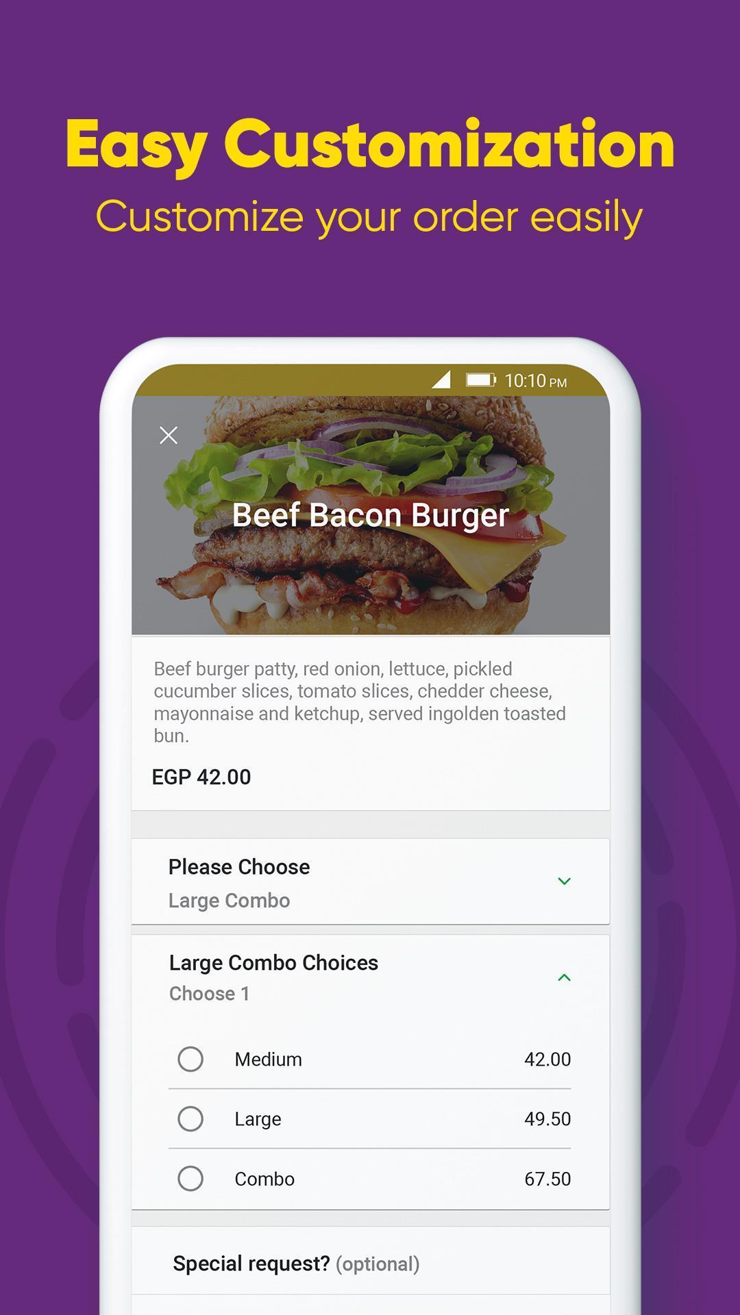 Otlob Food Delivery 7.1.0 Screenshot 5