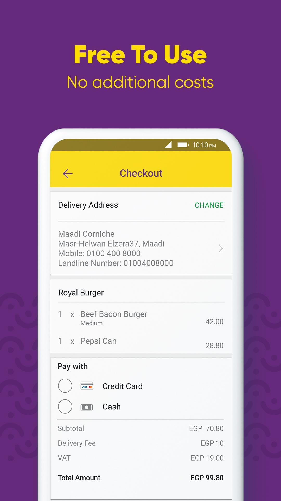 Otlob Food Delivery 7.1.0 Screenshot 7