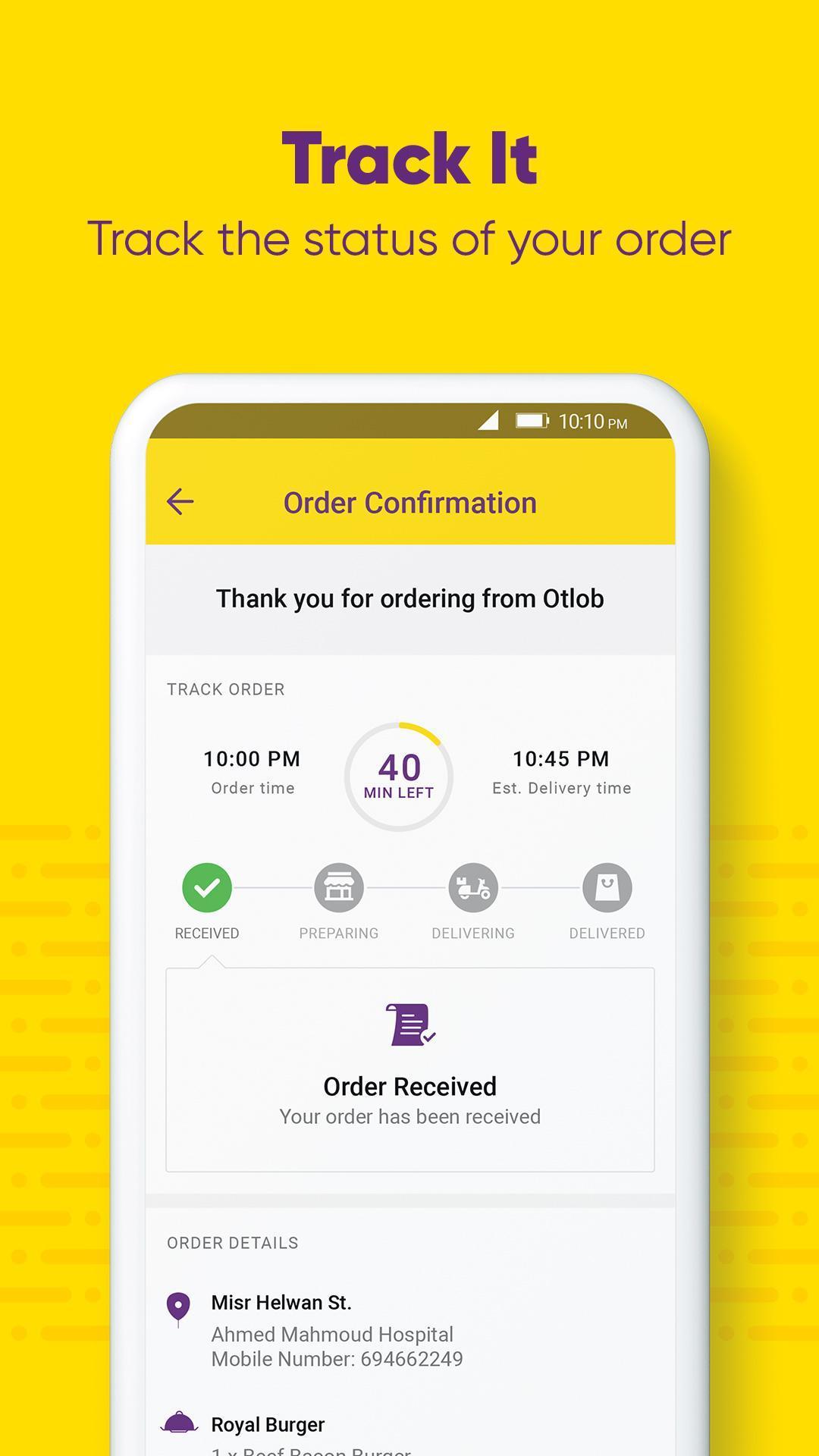 Otlob Food Delivery 7.1.0 Screenshot 8