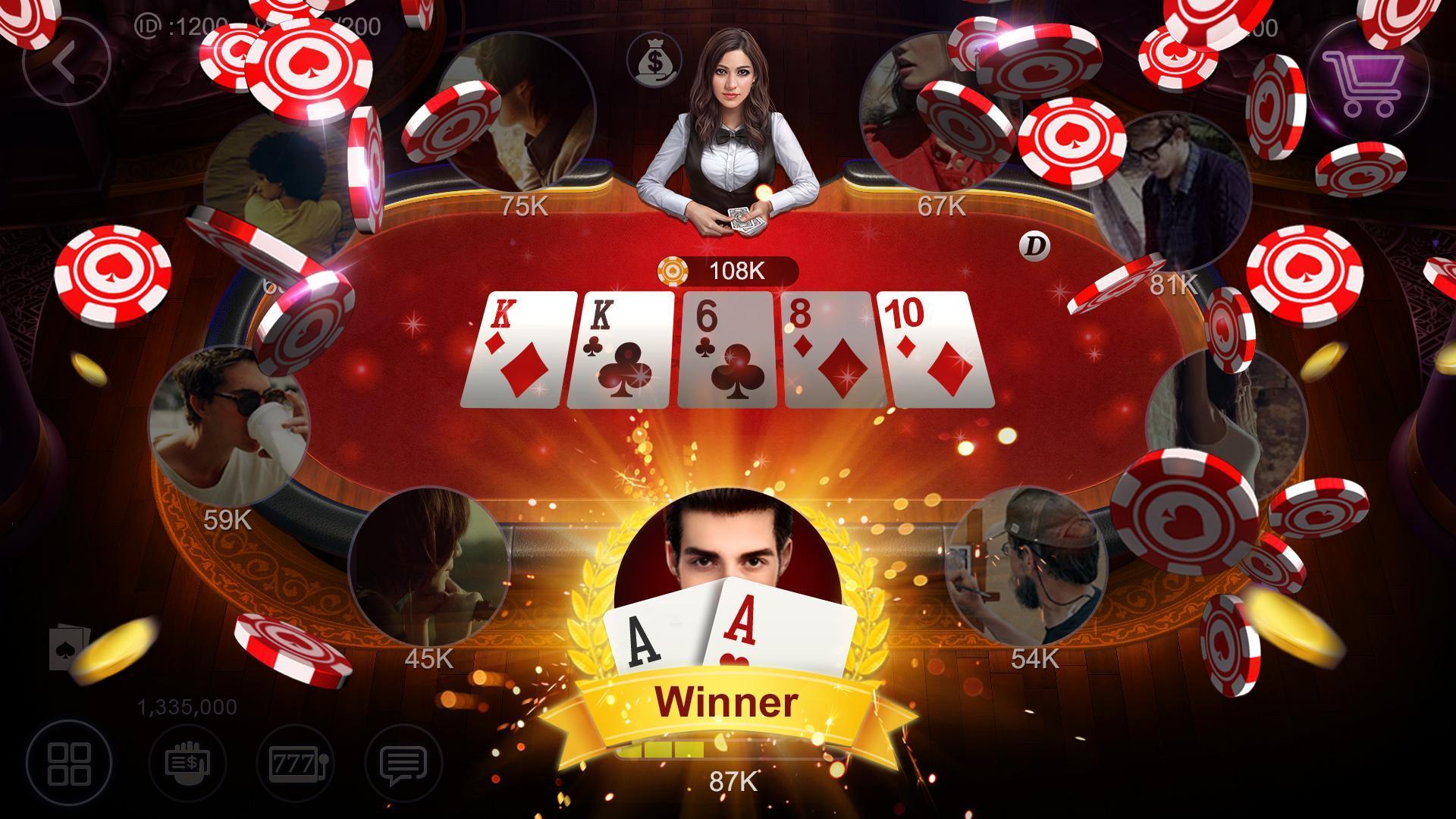 RallyAces Poker 9.4.112 Screenshot 1
