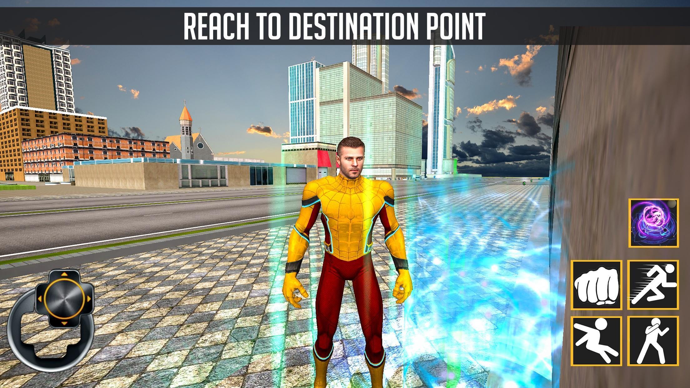 Speed Spider Flash Super Hero 2019 1.0.5 Screenshot 3