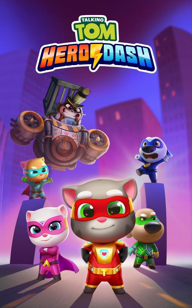 Talking Tom Hero Dash Run Game 1.8.0.1043 Screenshot 14