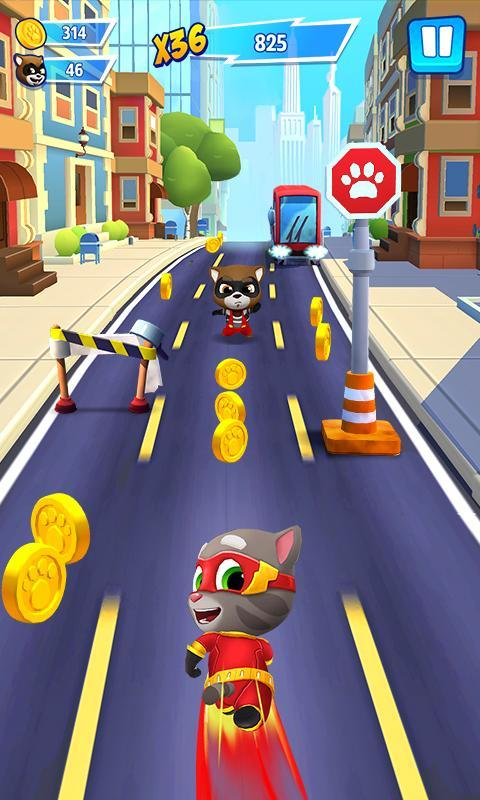 Talking Tom Hero Dash Run Game 1.8.0.1043 Screenshot 2