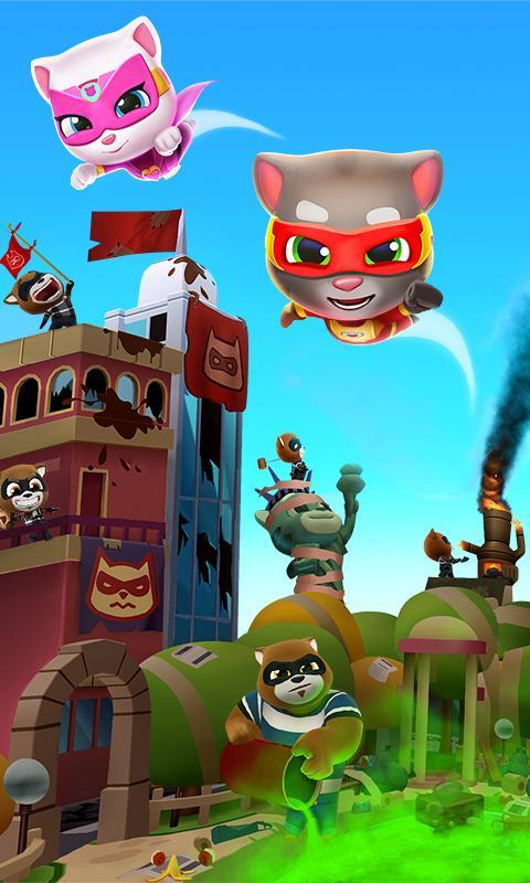 Talking Tom Hero Dash Run Game 1.8.0.1043 Screenshot 6