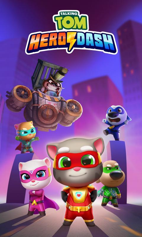 Talking Tom Hero Dash Run Game 1.8.0.1043 Screenshot 7
