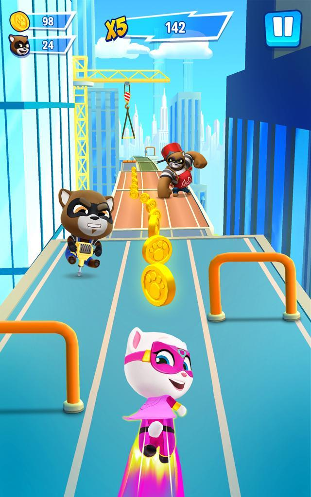 Talking Tom Hero Dash Run Game 1.8.0.1043 Screenshot 8