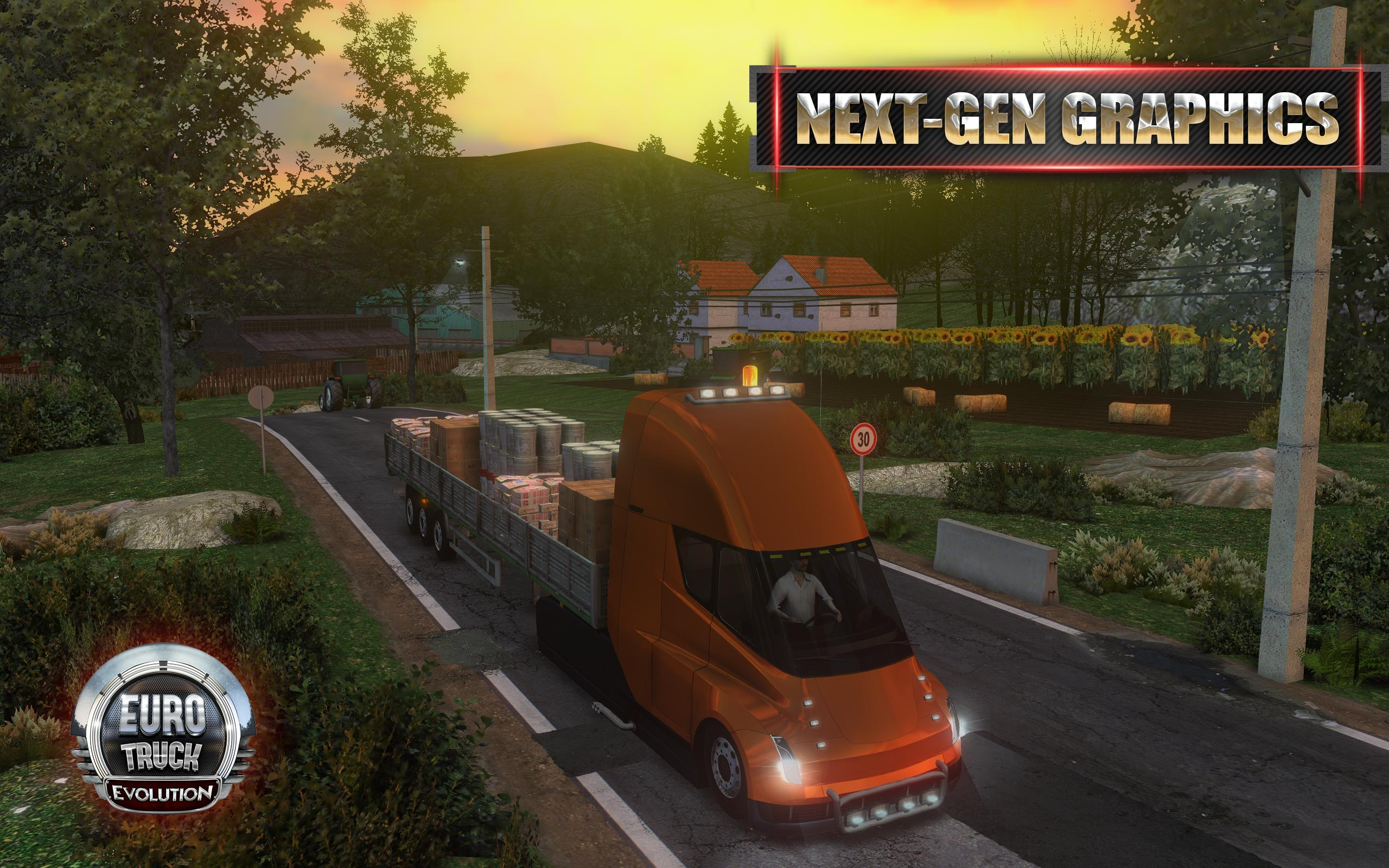 Euro Truck Evolution (Simulator) 3.1 Screenshot 1