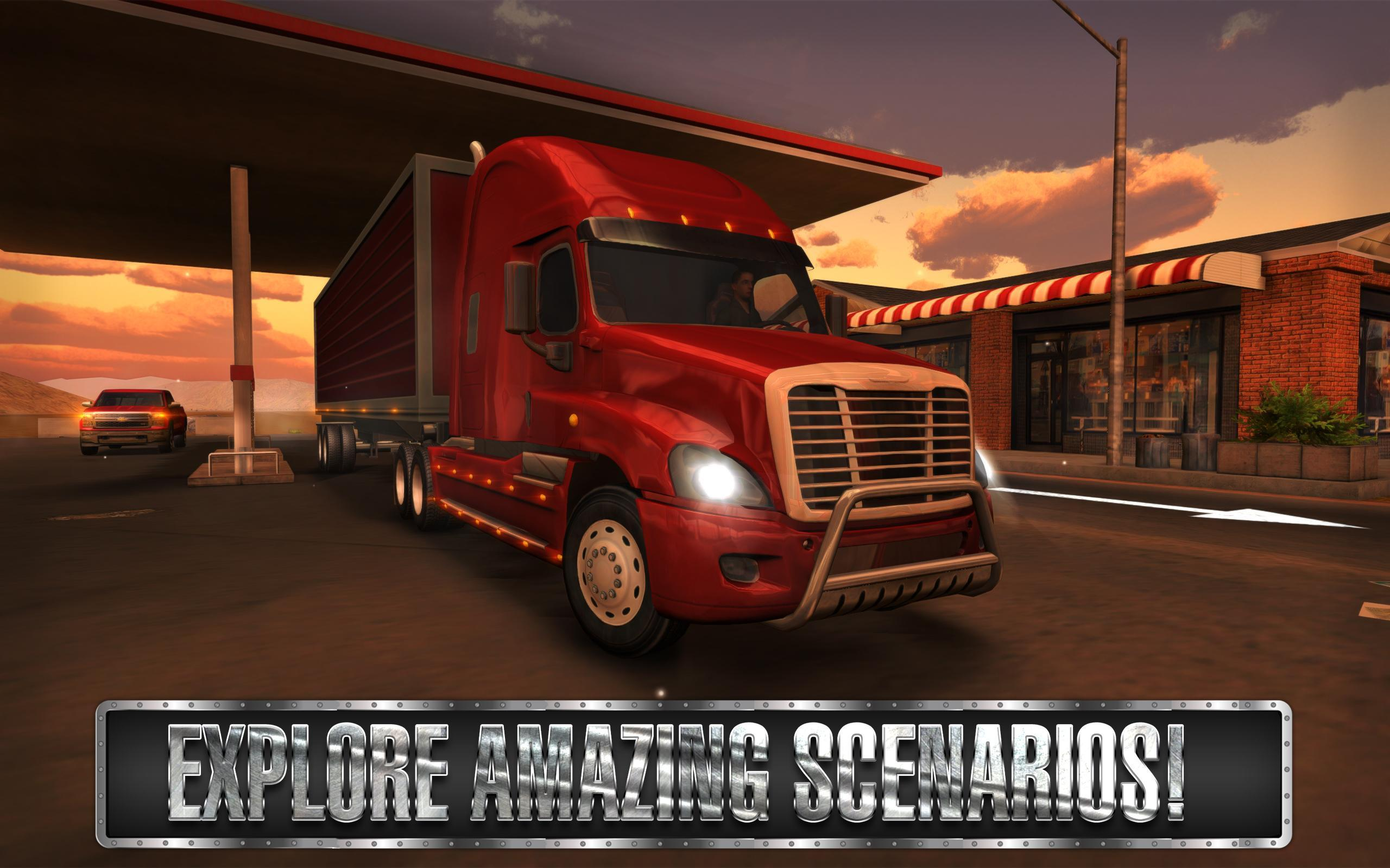 Truck Simulator USA 2.2.0 Screenshot 21