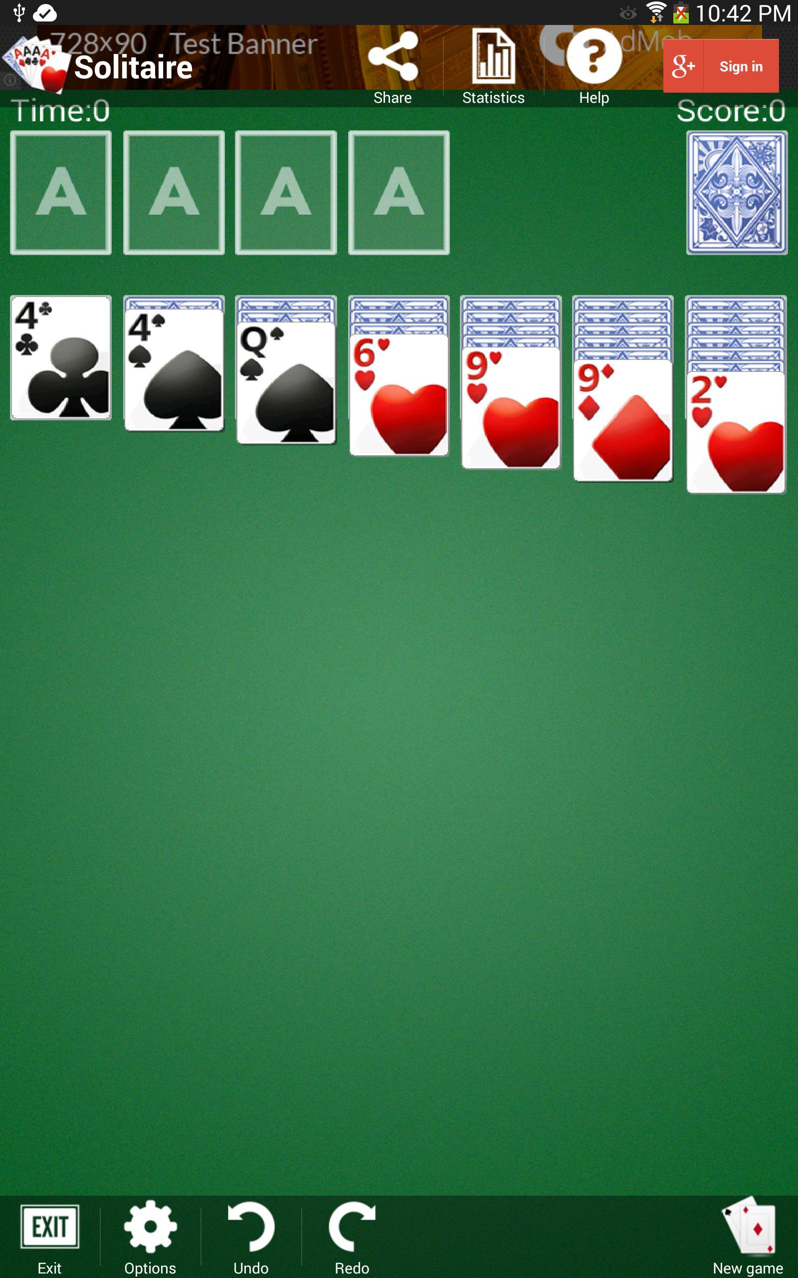 Solitaire 1.3.5 Screenshot 8
