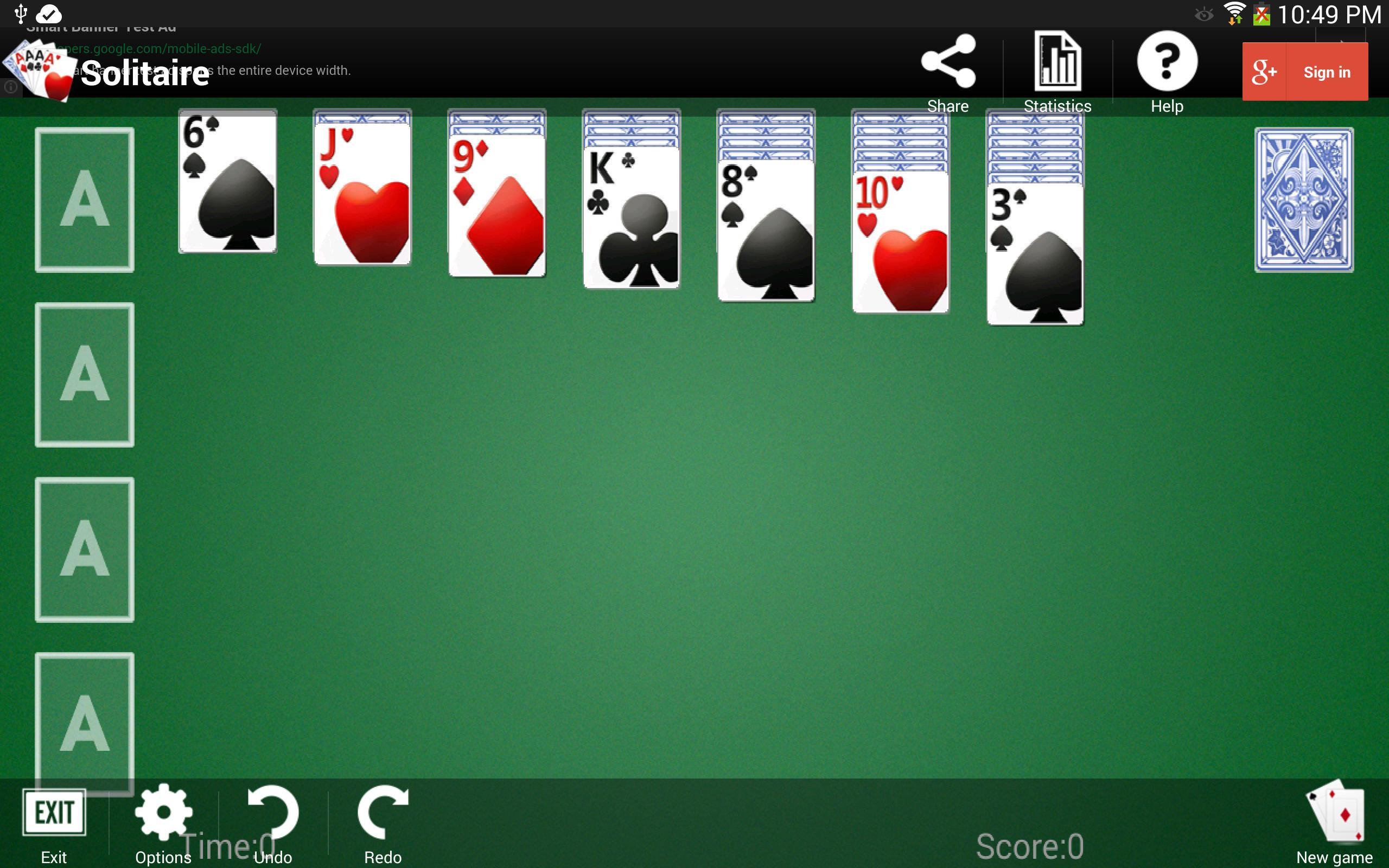 Solitaire 1.3.5 Screenshot 9