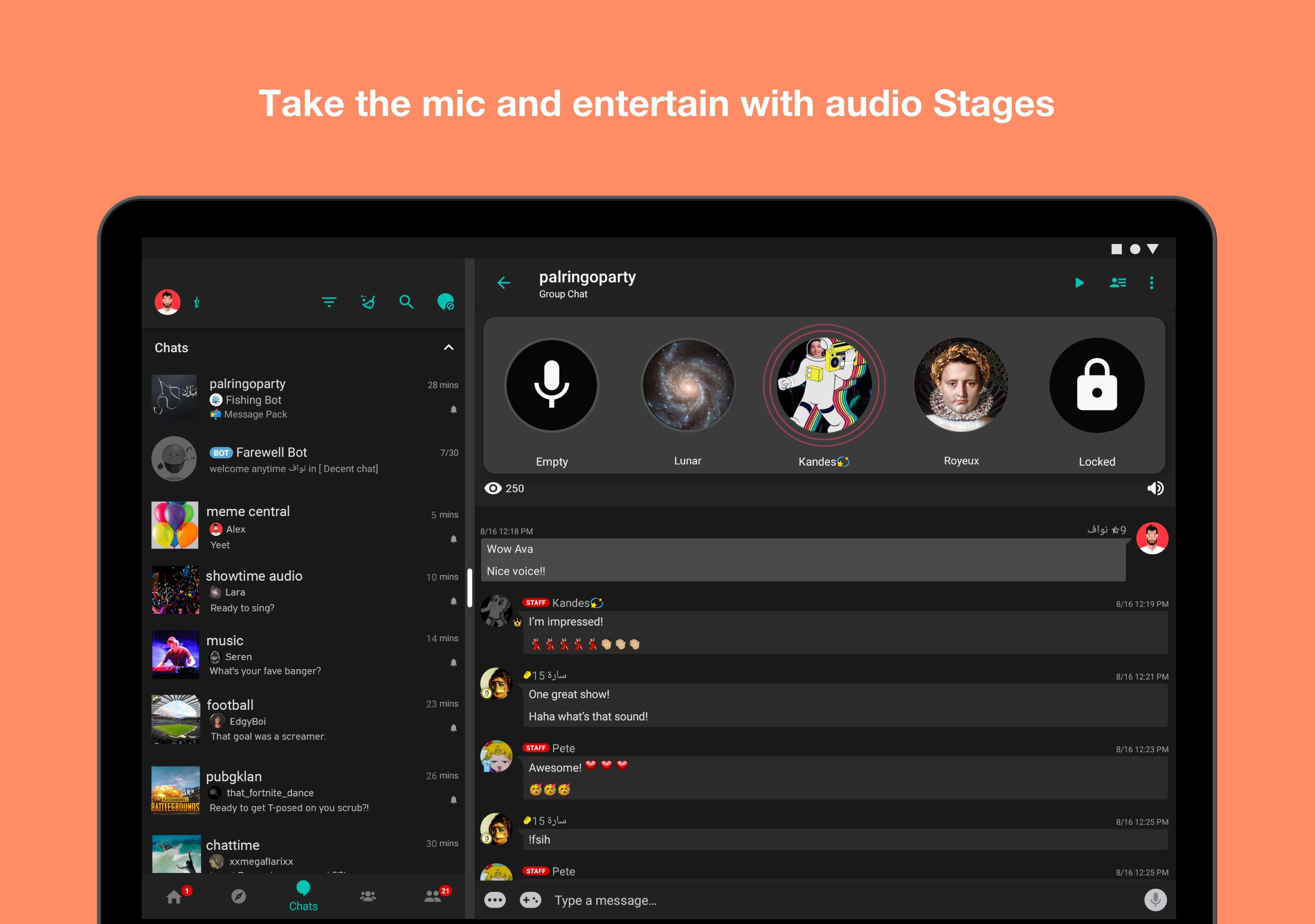 Palringo Group Messenger - chat, play games & more 9.2.1 Screenshot 7