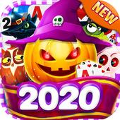 Solitaire Halloween app icon