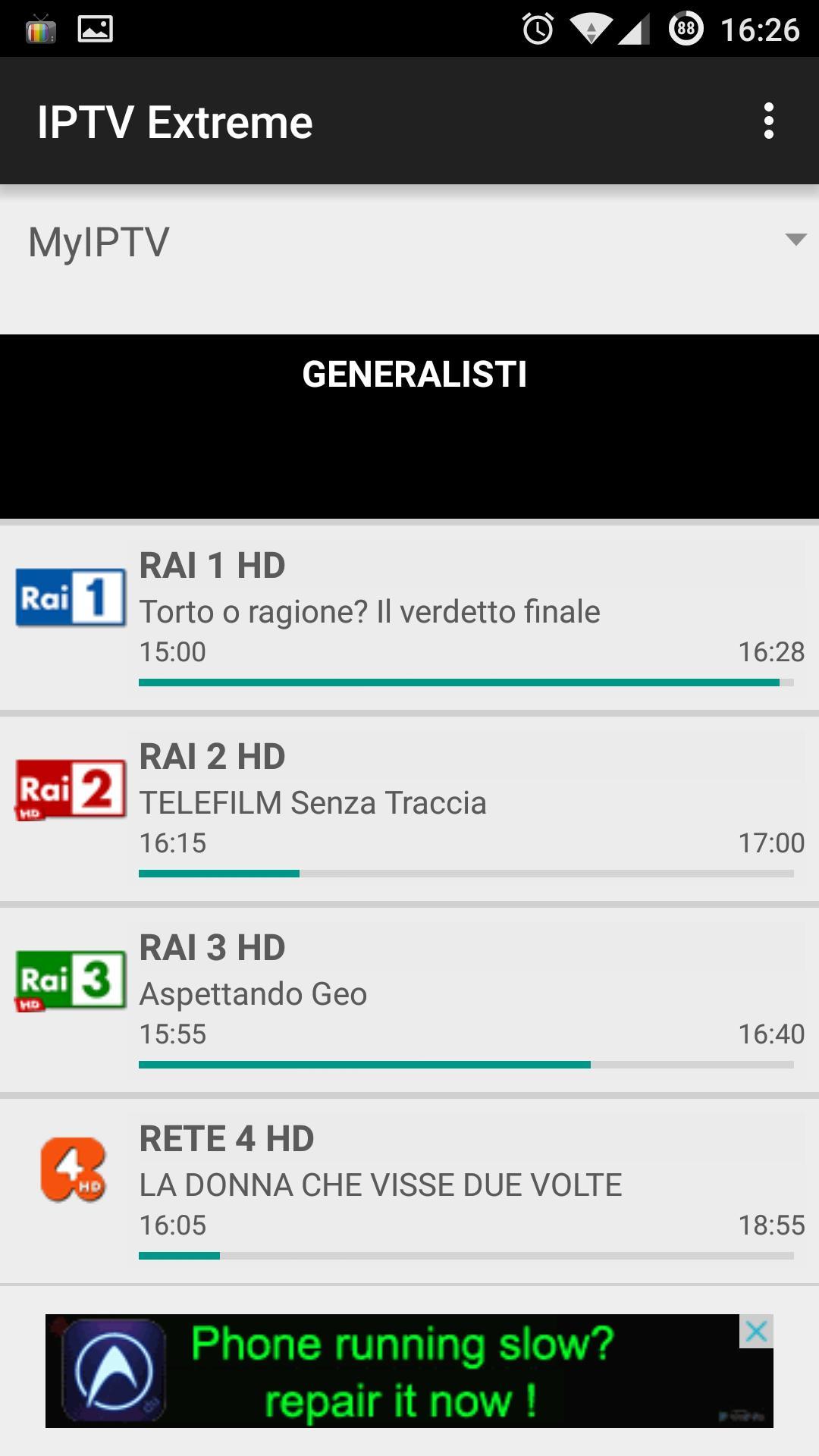 IPTV Extreme 101.0 Screenshot 1