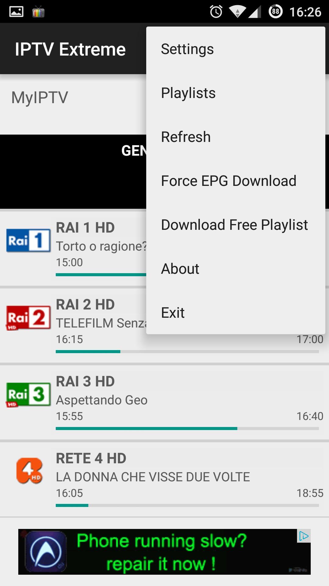IPTV Extreme 101.0 Screenshot 2