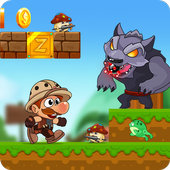Deno's World - Jungle Adventure app icon