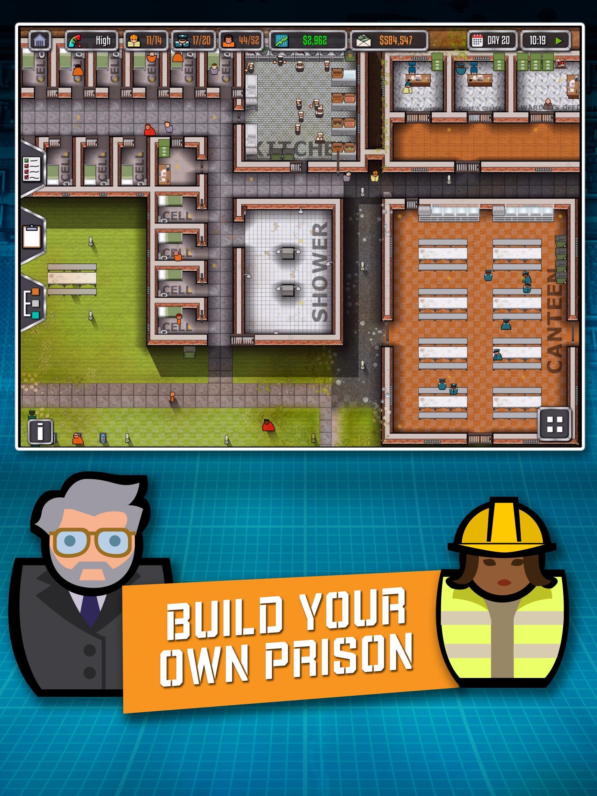 Prison Architect Mobile 2.0.9 Screenshot 1