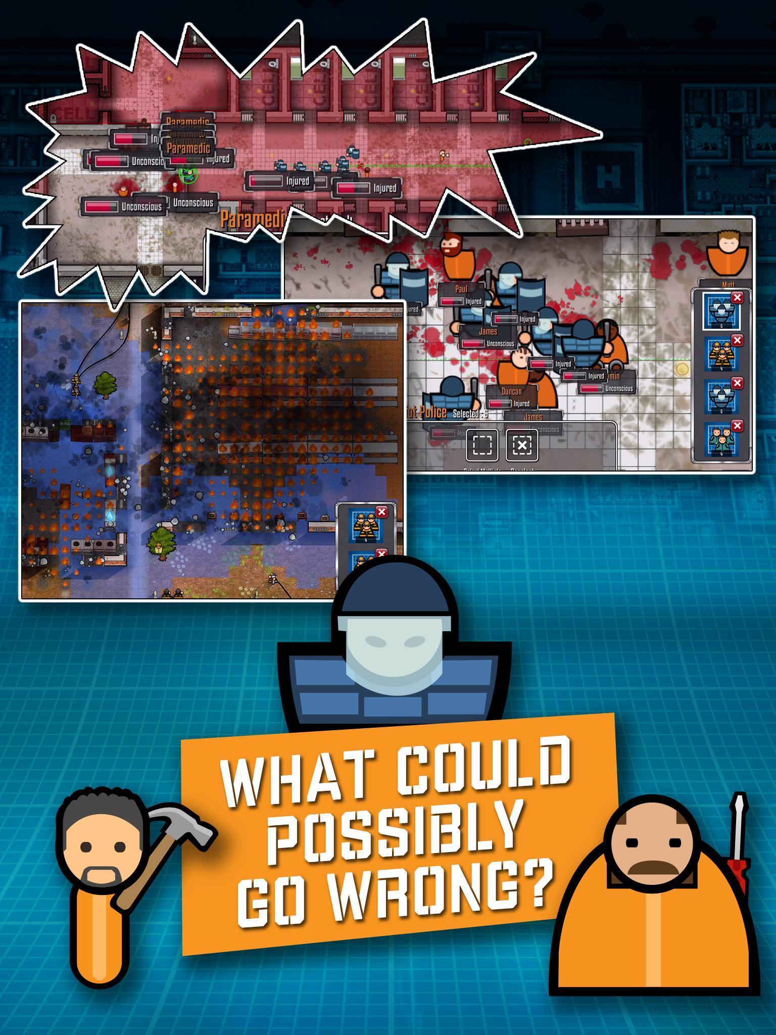 Prison Architect Mobile 2.0.9 Screenshot 10
