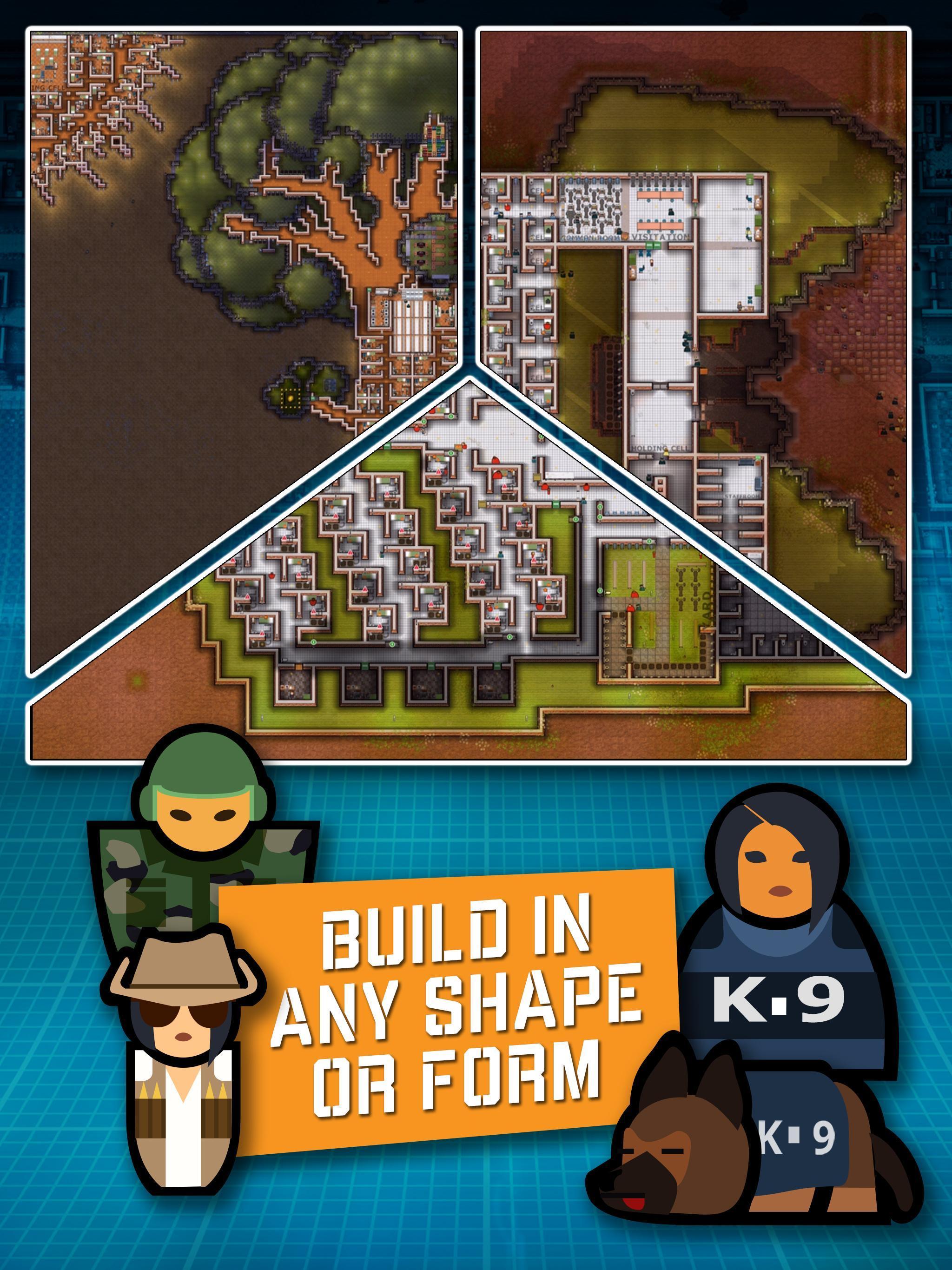 Prison Architect Mobile 2.0.9 Screenshot 3