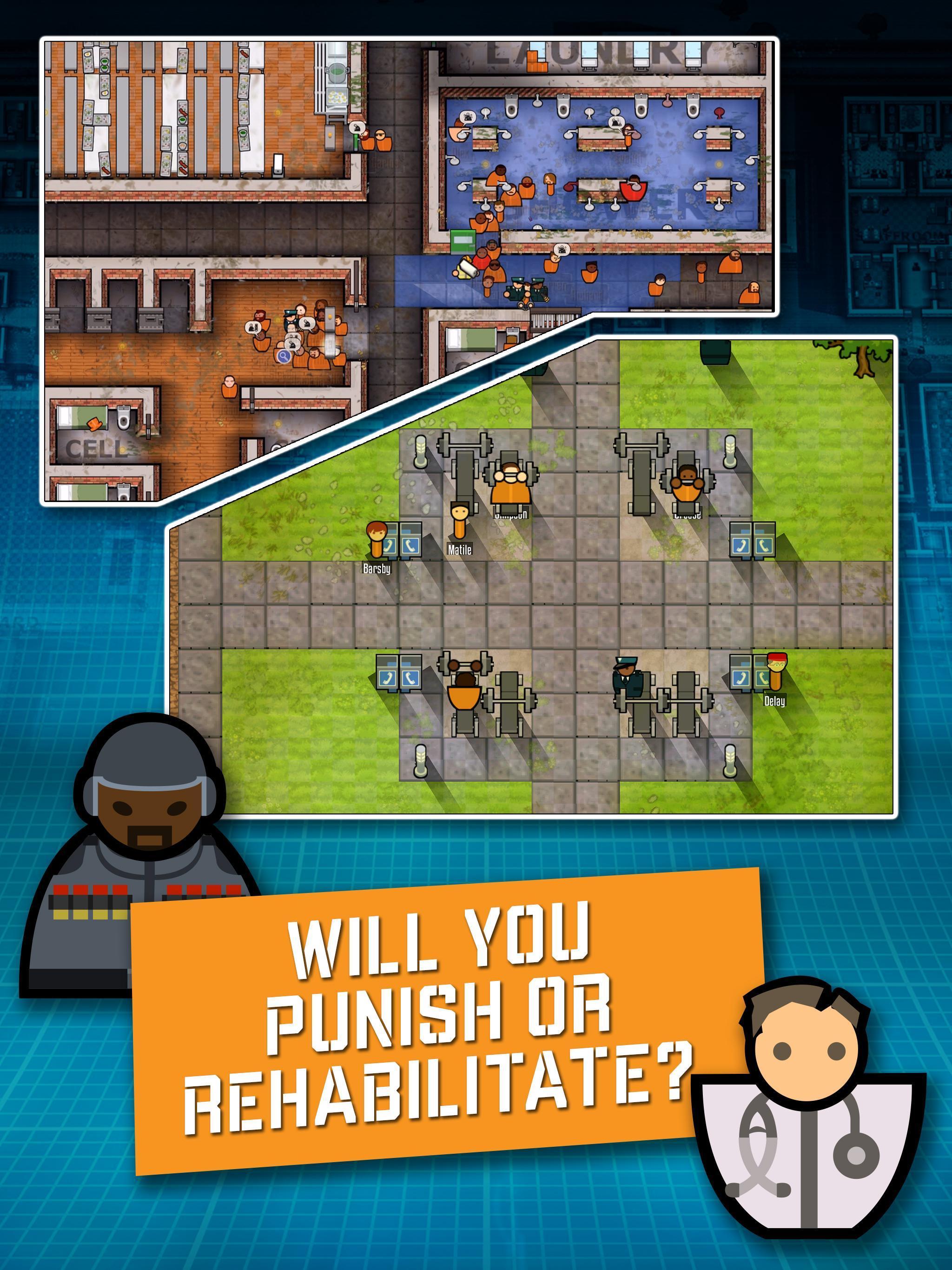 Prison Architect Mobile 2.0.9 Screenshot 4