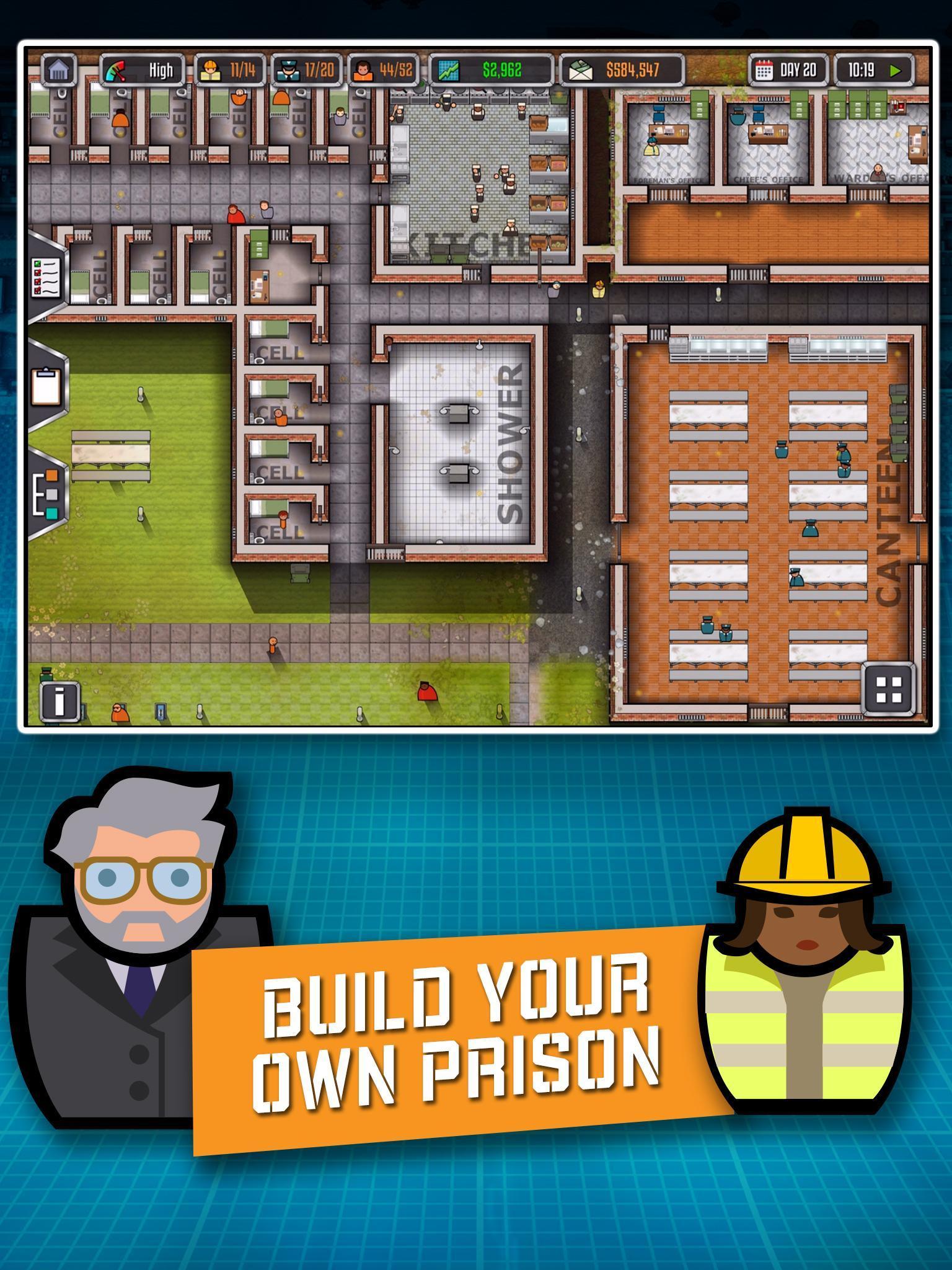 Prison Architect Mobile 2.0.9 Screenshot 6