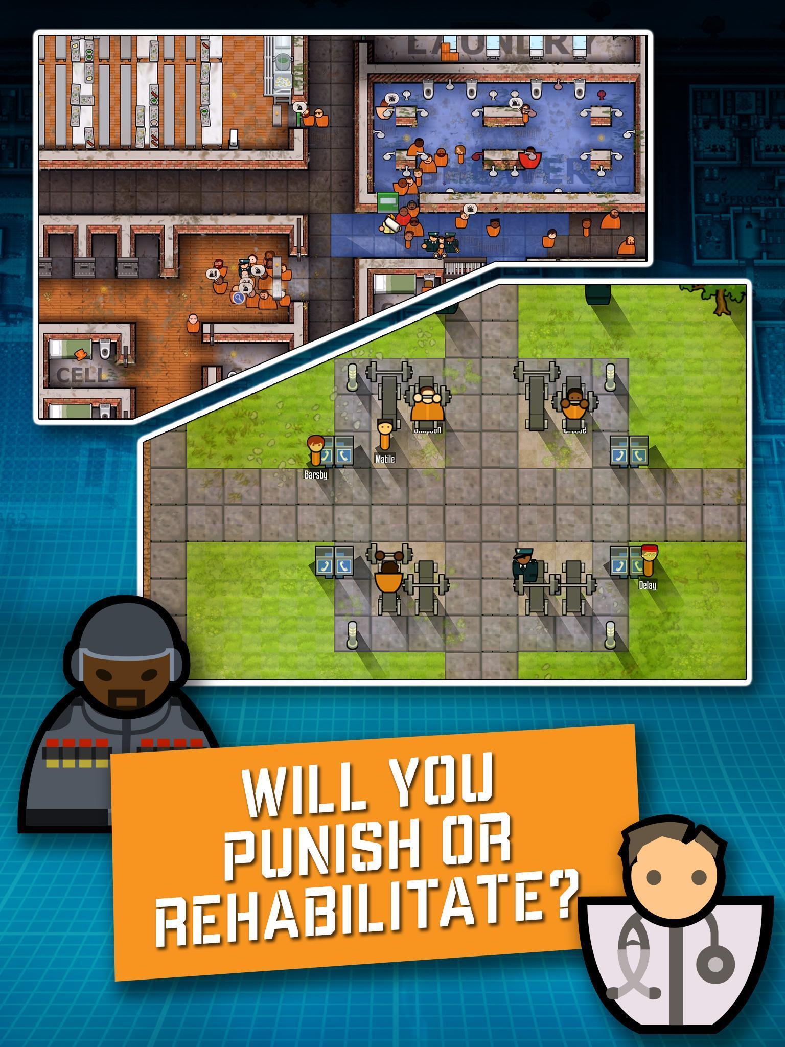 Prison Architect Mobile 2.0.9 Screenshot 9