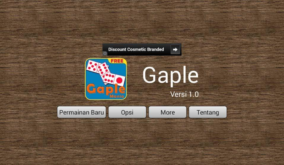 Gaple 1.3 Screenshot 1