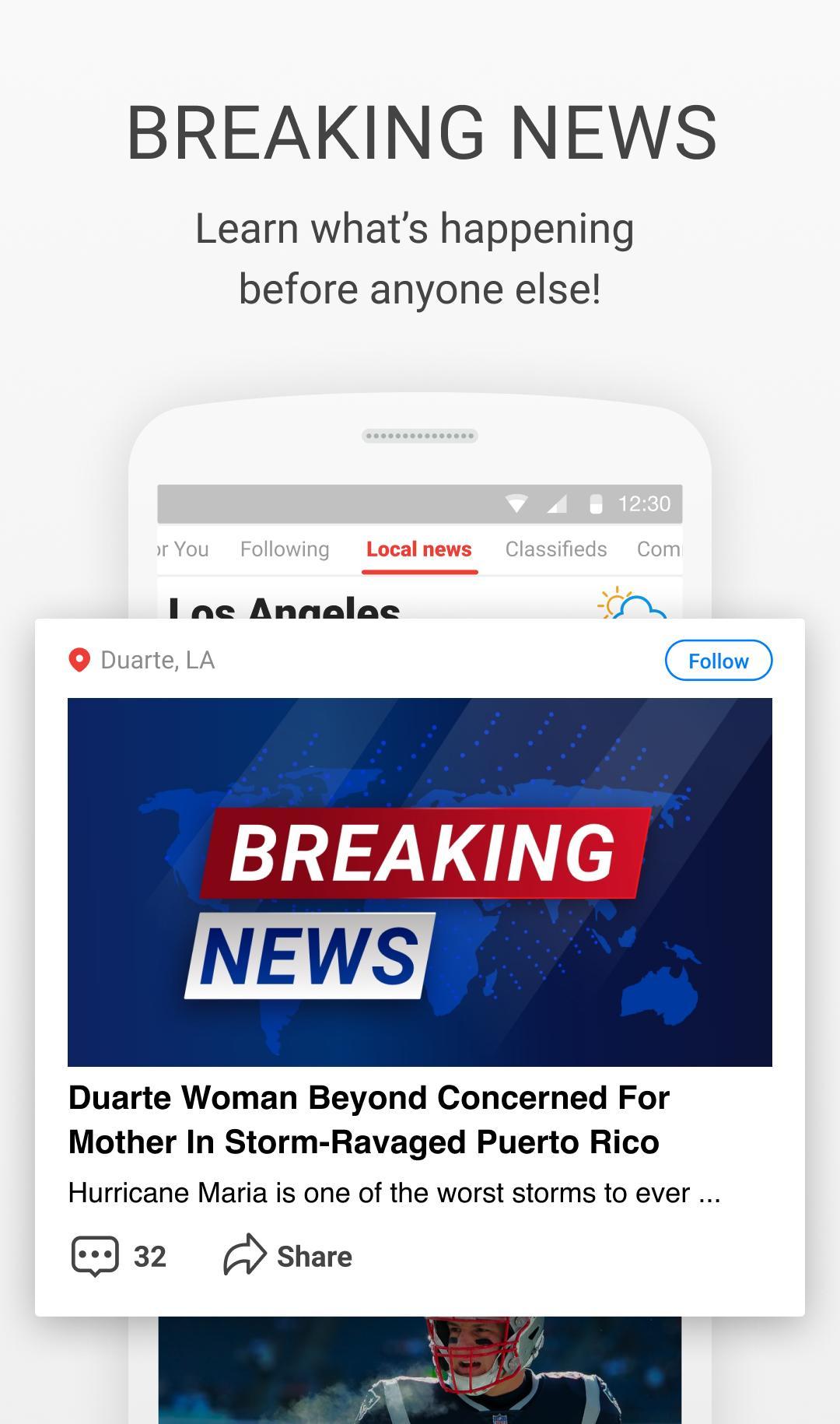 News Break Local & Breaking 8.7.5 Screenshot 2