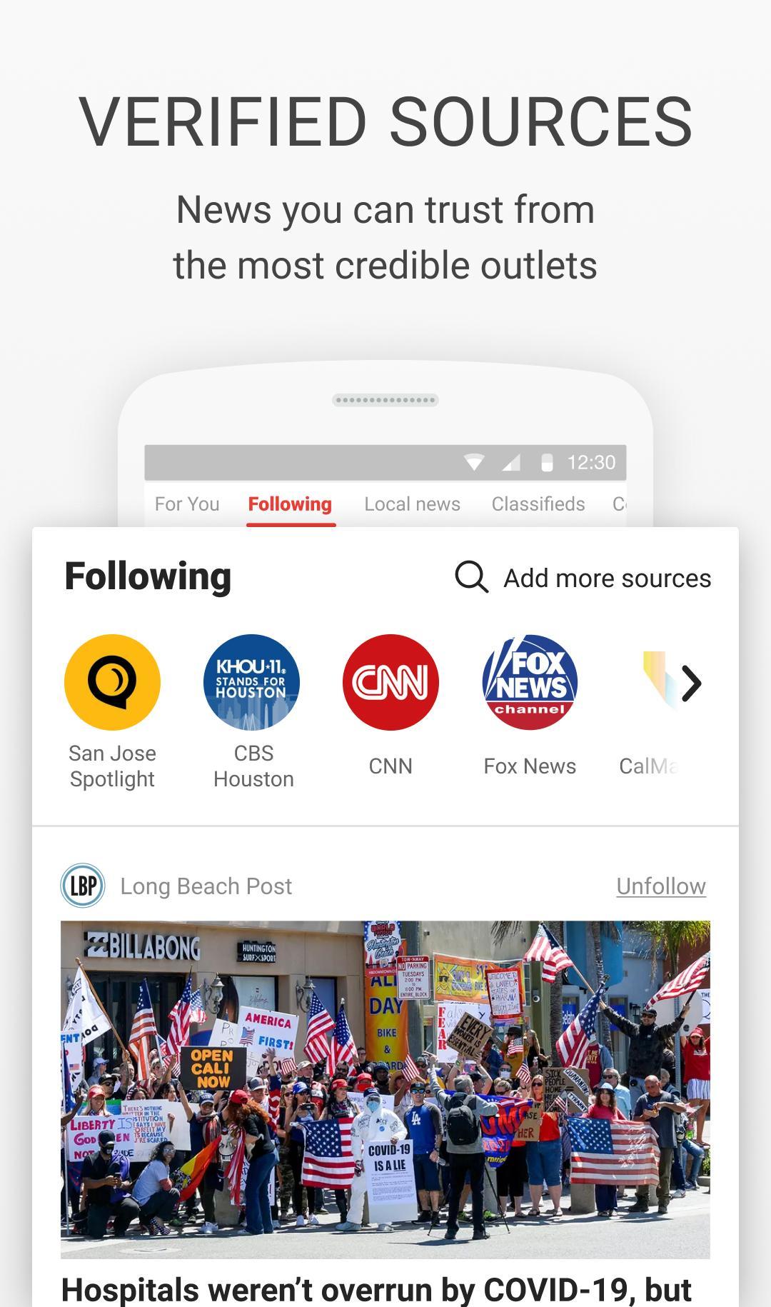 News Break Local & Breaking 8.7.5 Screenshot 3