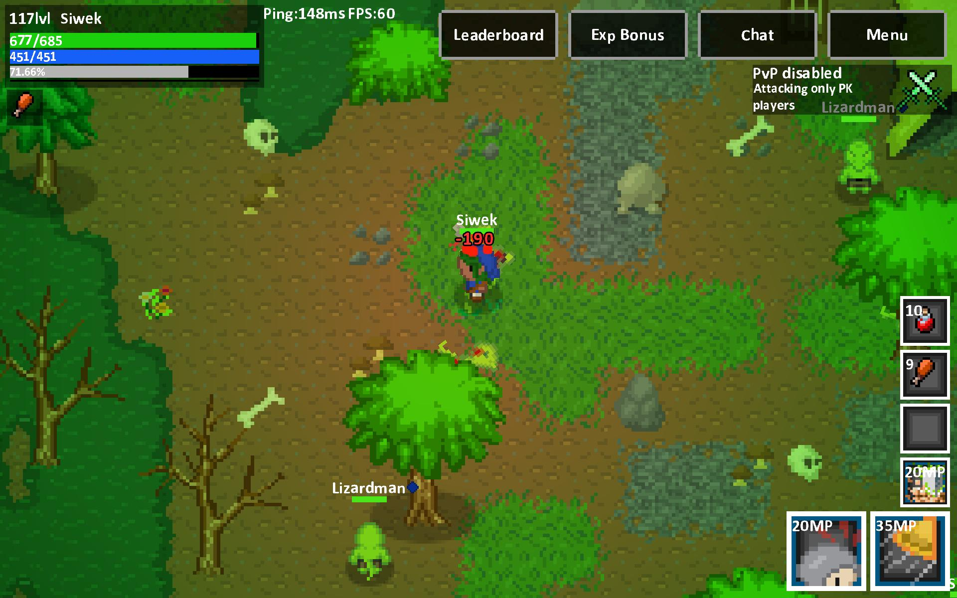 Heroes & Rats MMORPG Online 0.32.2 Screenshot 1
