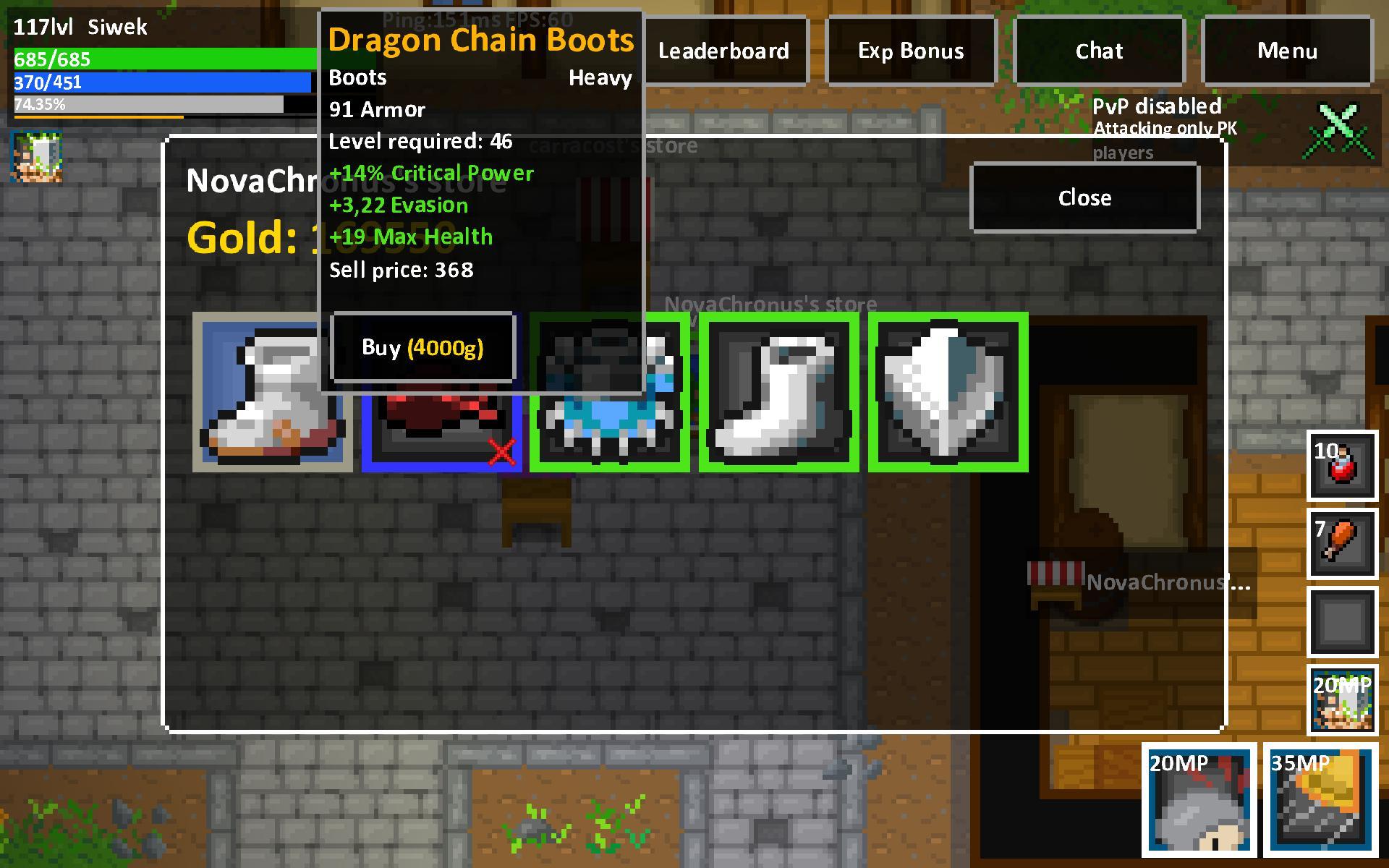 Heroes & Rats MMORPG Online 0.32.2 Screenshot 14