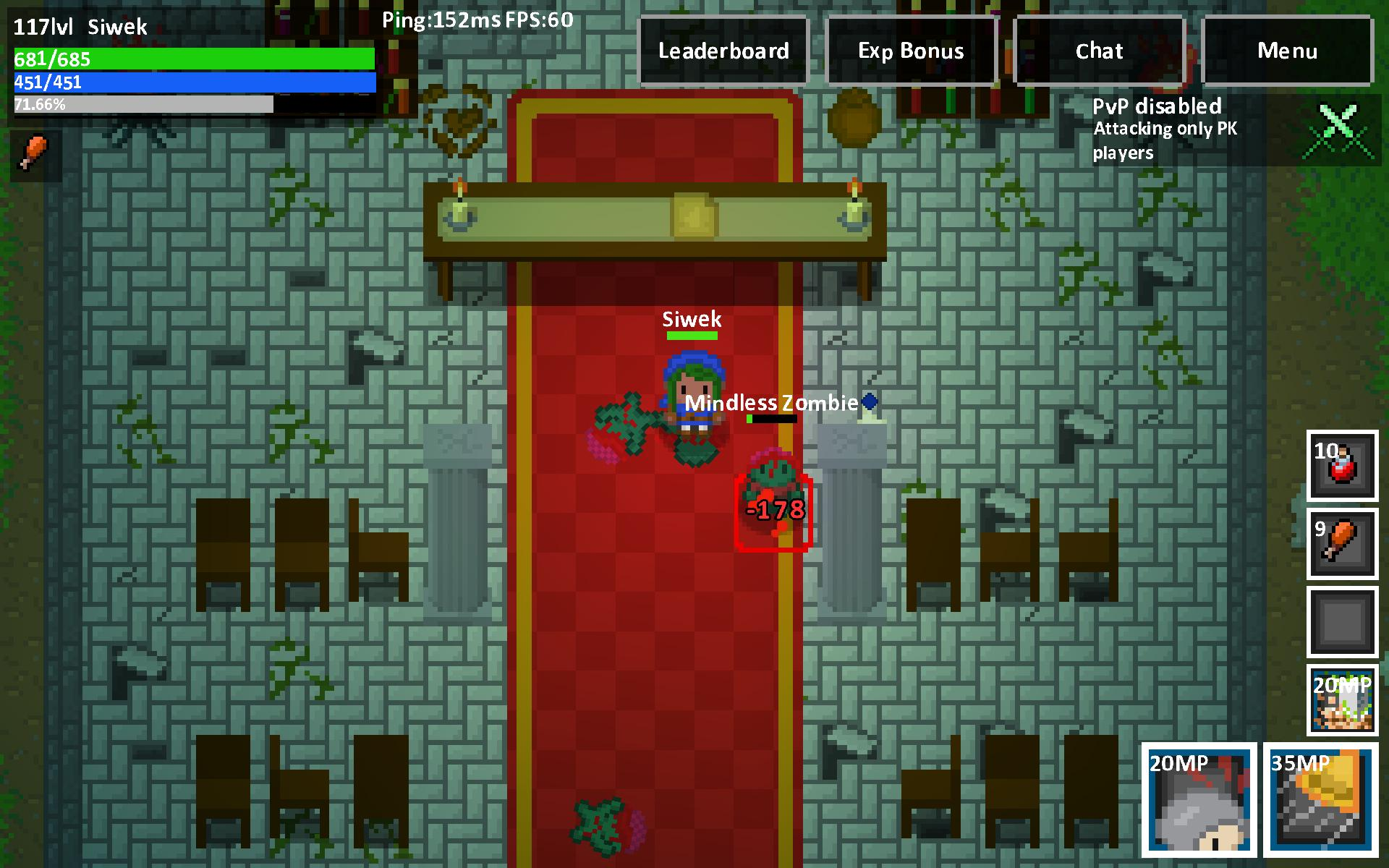 Heroes & Rats MMORPG Online 0.32.2 Screenshot 16