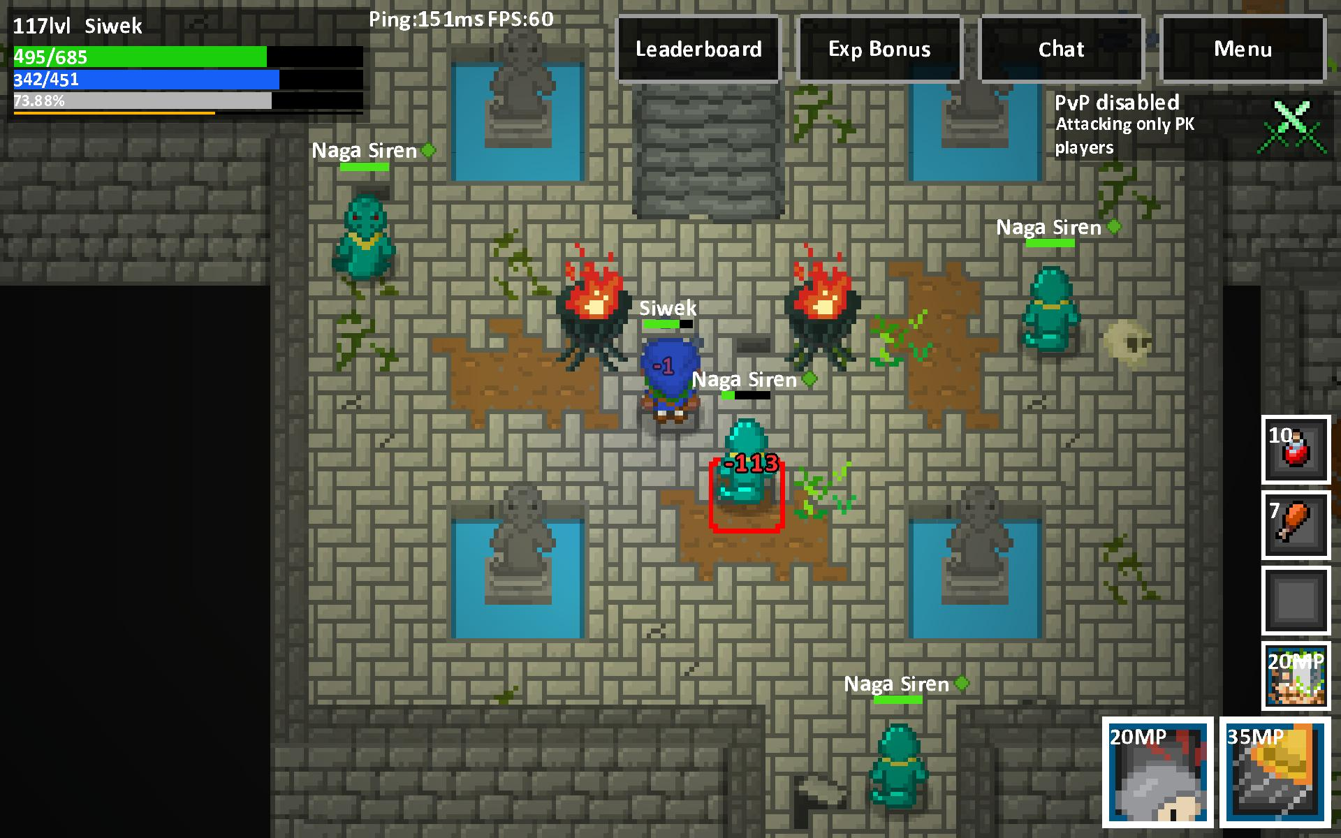 Heroes & Rats MMORPG Online 0.32.2 Screenshot 17