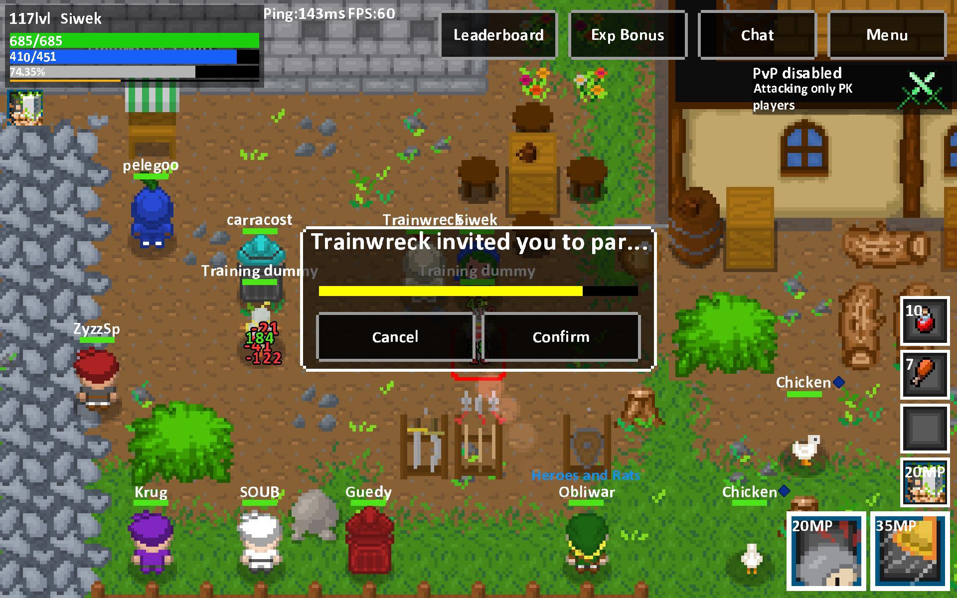 Heroes & Rats MMORPG Online 0.32.2 Screenshot 20