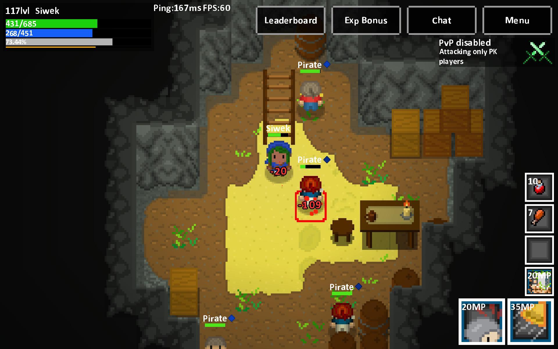 Heroes & Rats MMORPG Online 0.32.2 Screenshot 5