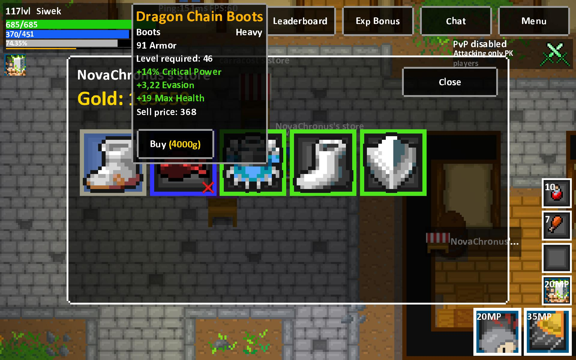 Heroes & Rats MMORPG Online 0.32.2 Screenshot 7