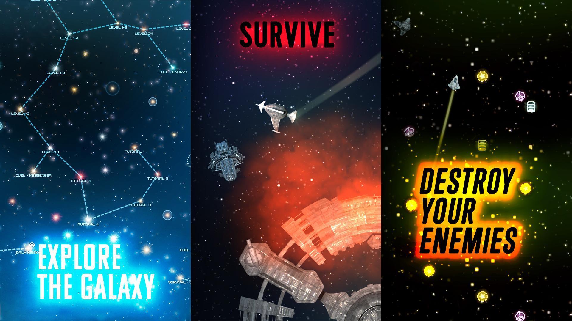Event Horizon: spaceship builder and alien shooter 2.5.2 Screenshot 1