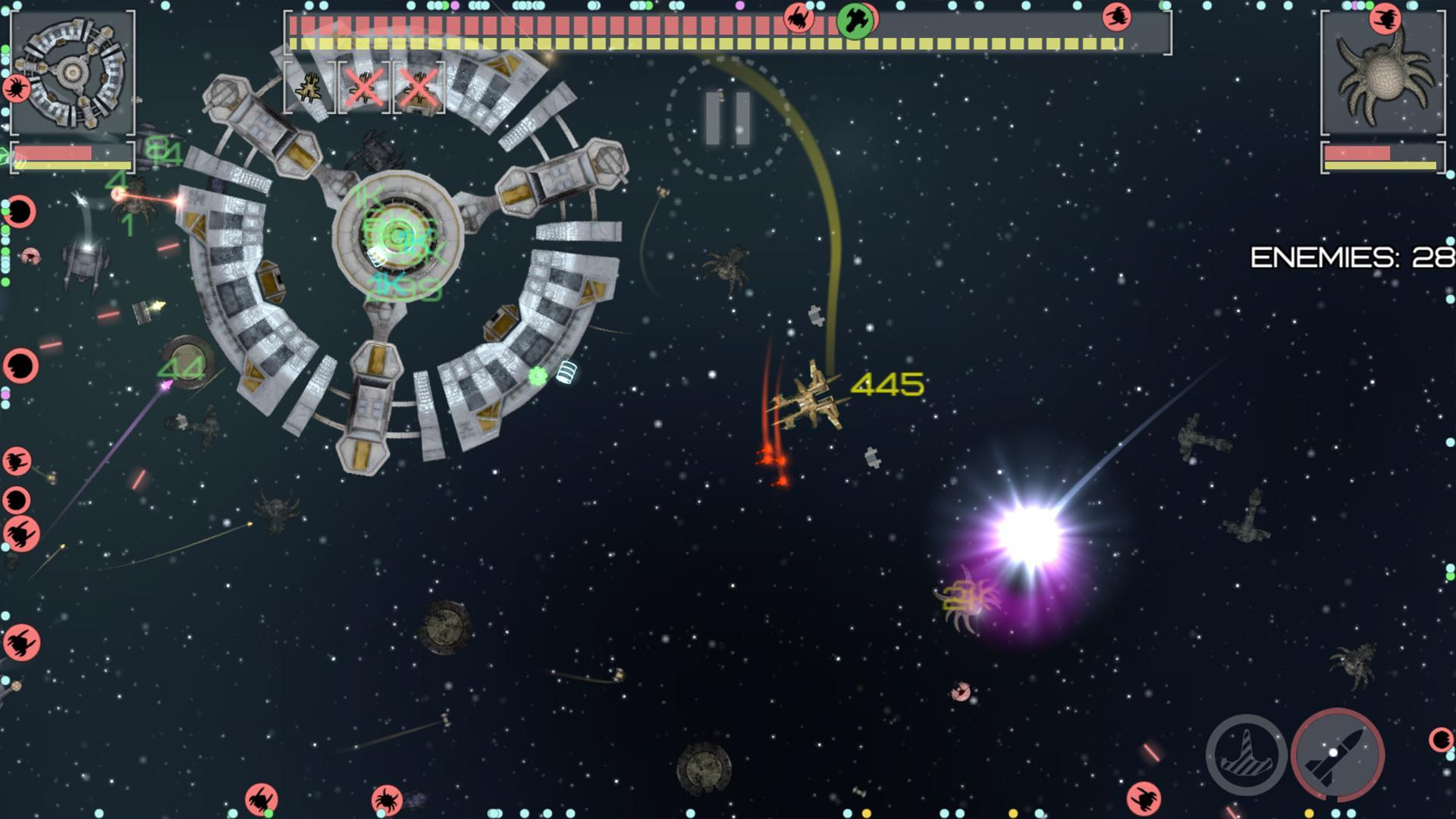 Event Horizon: spaceship builder and alien shooter 2.5.2 Screenshot 13