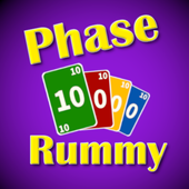 Super Phase Rummy card game app icon