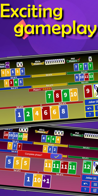 Super Phase Rummy card game 8.3 Screenshot 2
