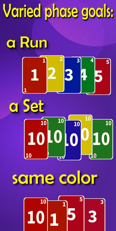 Super Phase Rummy card game 8.3 Screenshot 3