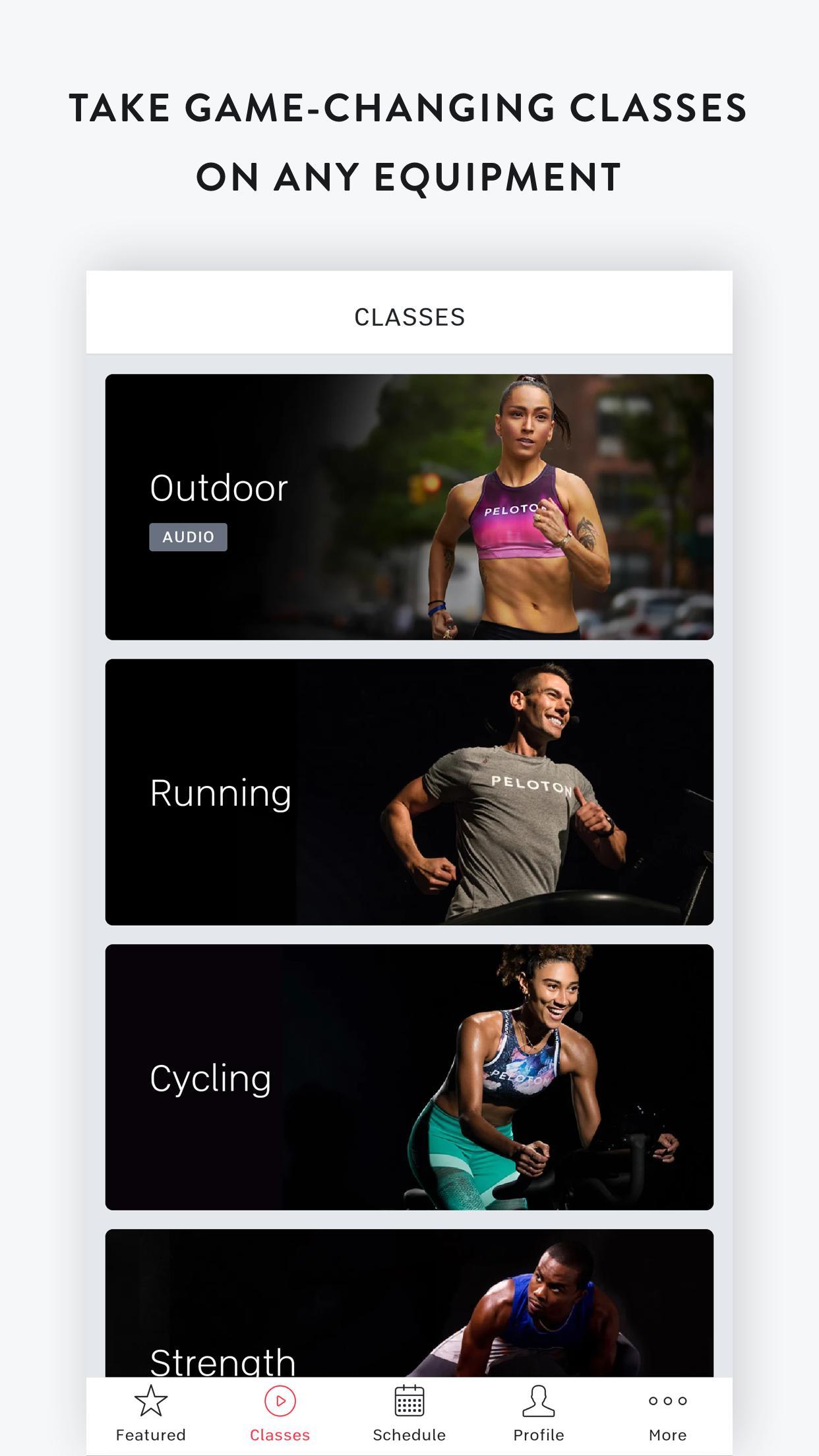 Peloton —  Running, strength, HIIT & yoga classes 1.0.128776 Screenshot 1