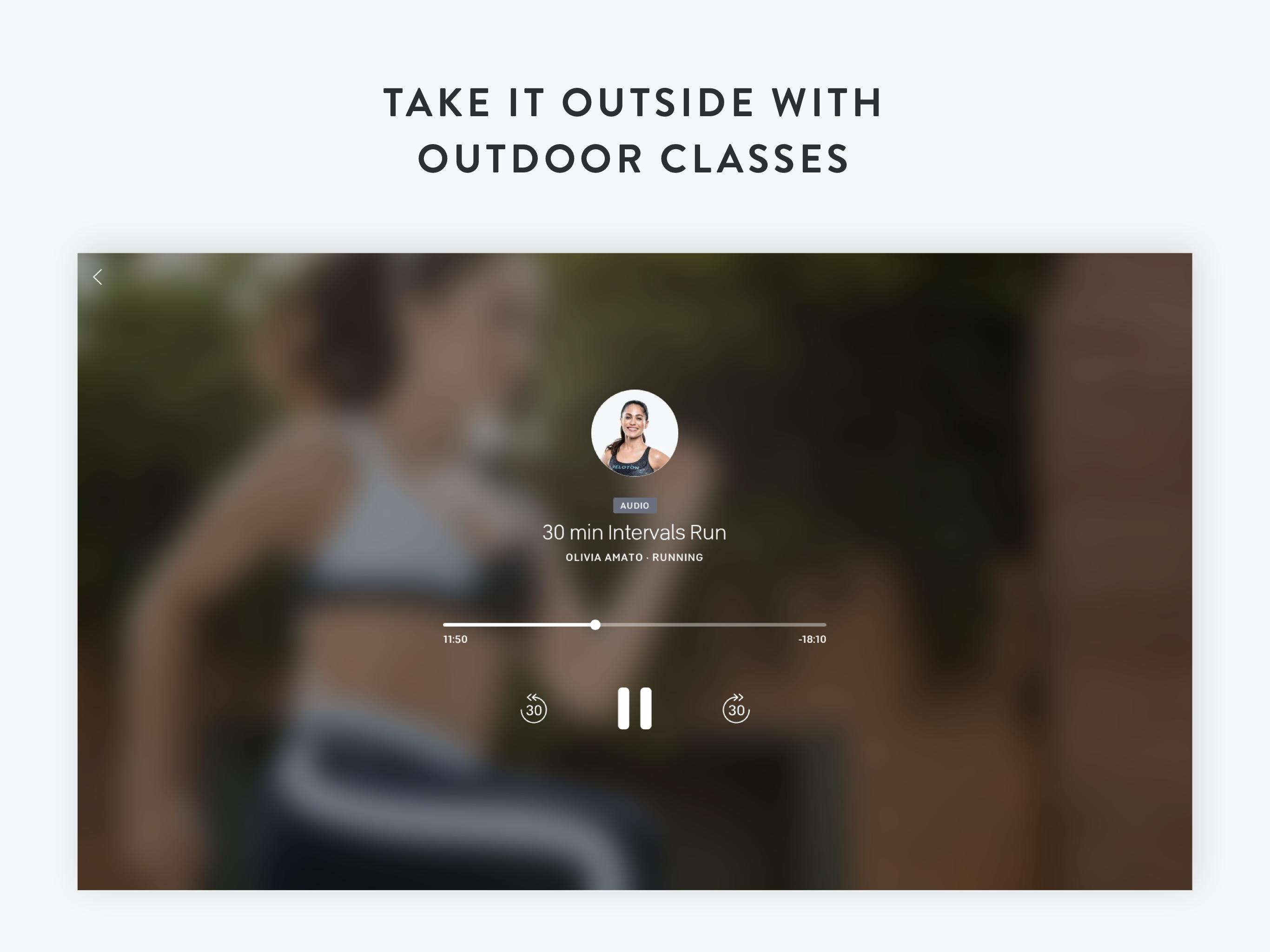 Peloton —  Running, strength, HIIT & yoga classes 1.0.128776 Screenshot 14
