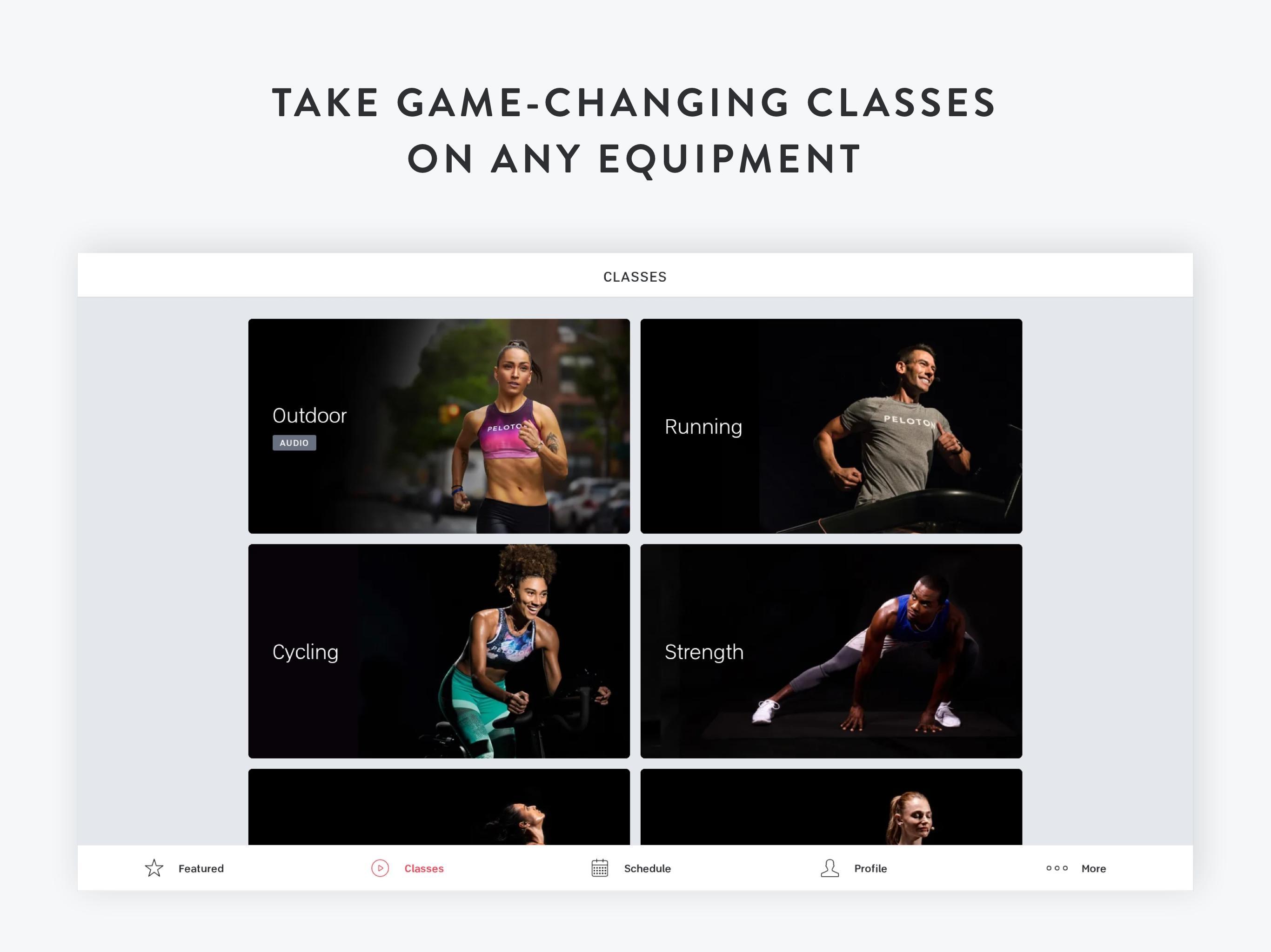 Peloton —  Running, strength, HIIT & yoga classes 1.0.128776 Screenshot 6
