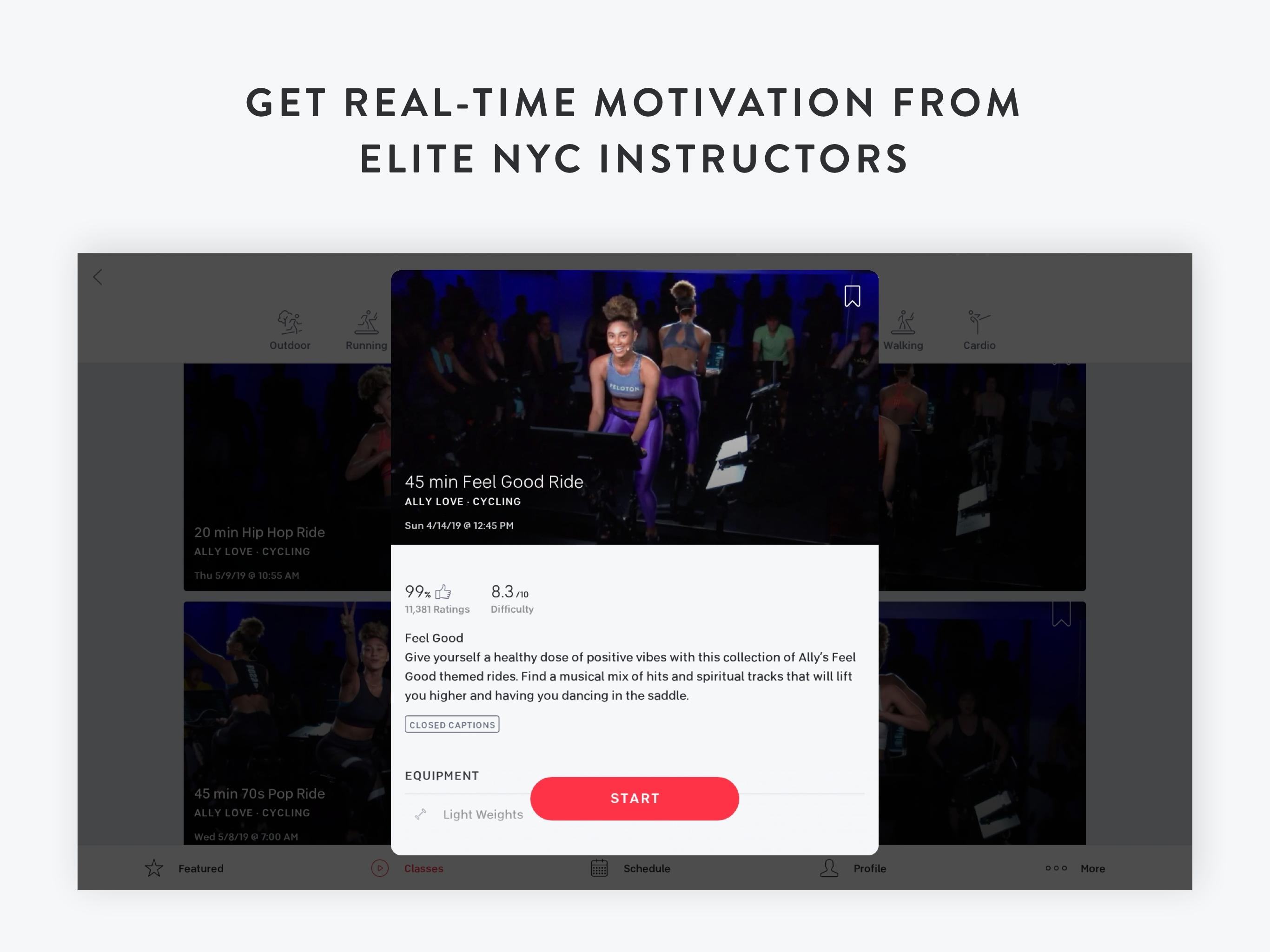 Peloton —  Running, strength, HIIT & yoga classes 1.0.128776 Screenshot 8