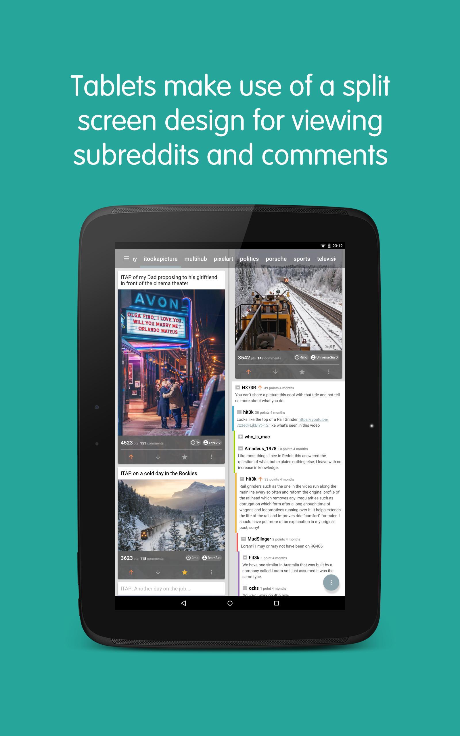 Now for Reddit 5.8.7 Screenshot 8