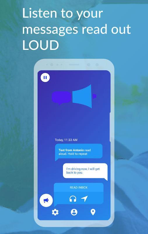 ping Text to Speech: Reads Texts & Emails aloud 7.35 Screenshot 1
