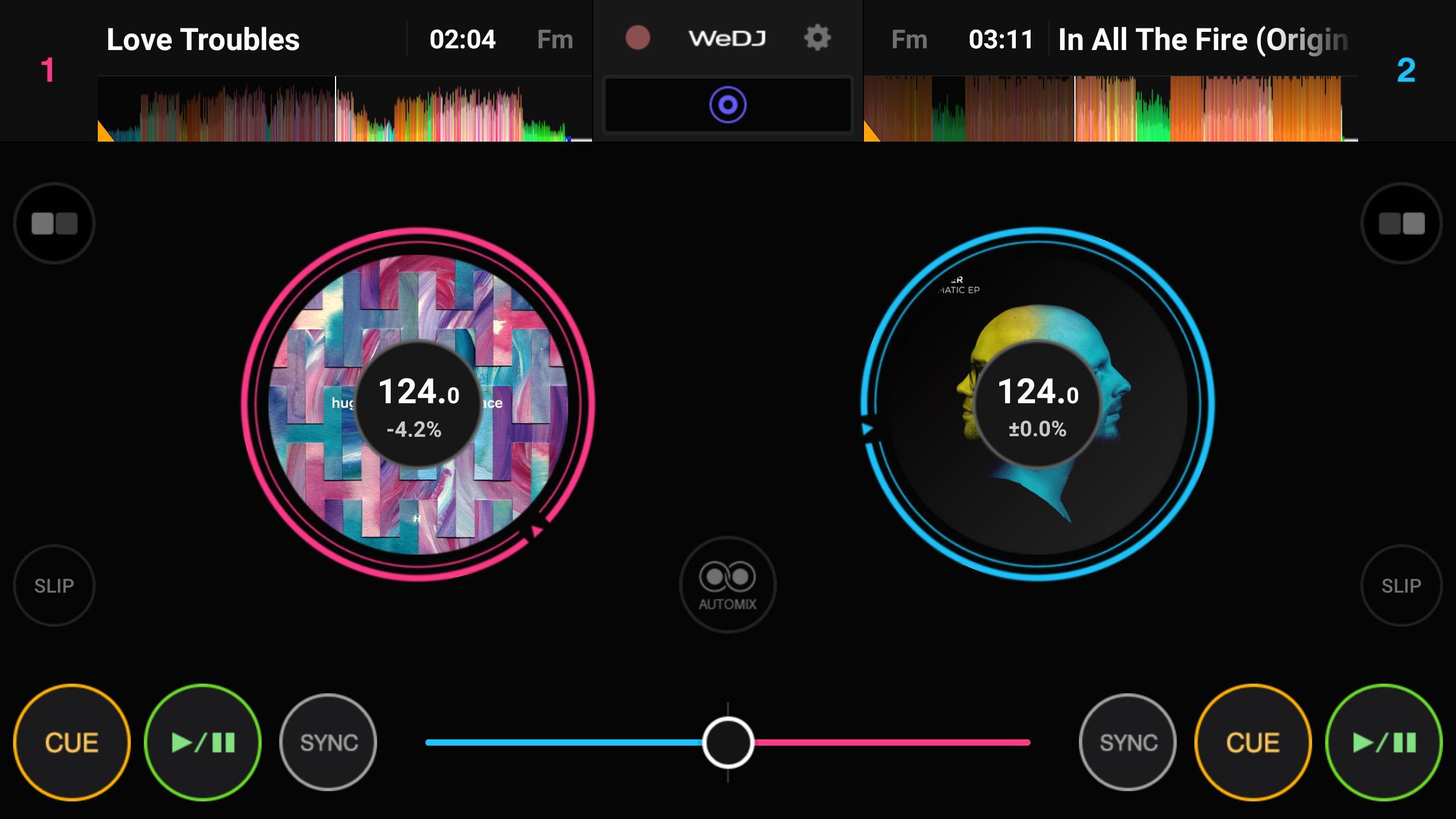 WeDJ 1.1.0.0 Screenshot 1