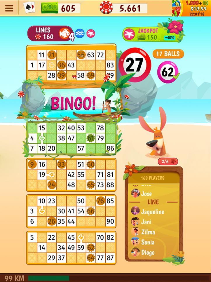 Praia Bingo Bingo Games + Slot + Casino 28.13.1 Screenshot 24
